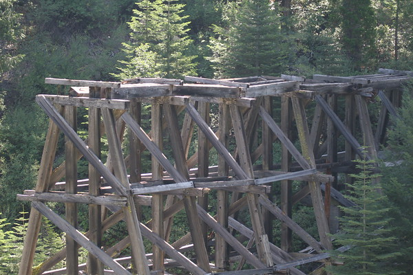 Exploring Logging Railroads of the Sierras